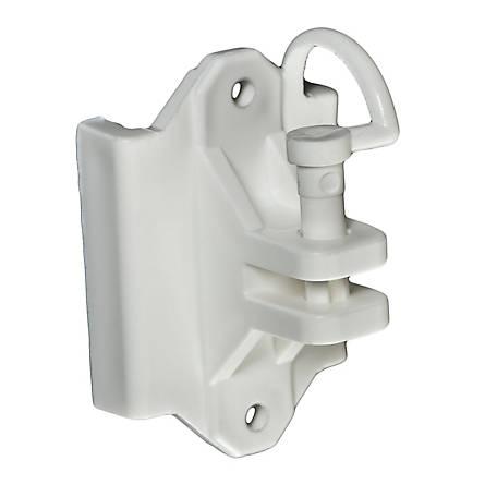 Zareba White Pin Lock Wood And T Post Insulator Pack Of