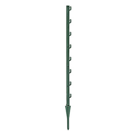 Zareba 30 in. Green Garden Fence Post