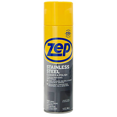 Zep Commercial Stainless Steel Polish, ZUSSTL144