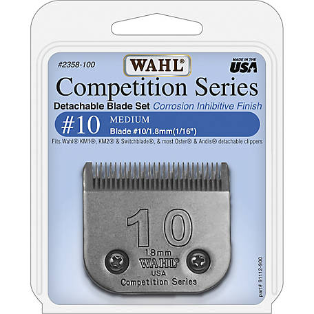 Wahl #10 Competition Series Detachable A-5 Style Blade
