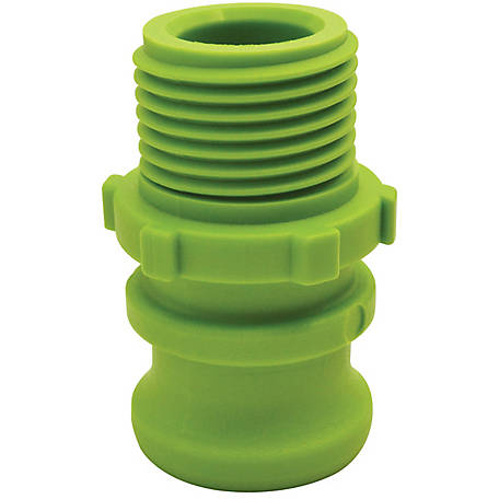 Gator Lock Garden Hose Coupling, F, MGHT x Male Adapter