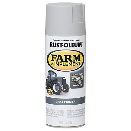 Rust-Oleum Specialty Farm & Implement Gray Primer, 12 oz. Spray