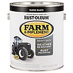Rust-Oleum Specialty Farm & Implement Gloss, Black, 1 gal.