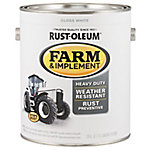 Rust-Oleum Specialty Farm & Implement Gloss, White, 1 gal.
