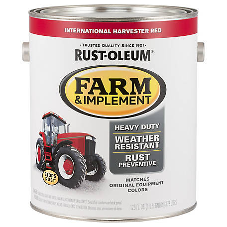 Rust-Oleum Rust-Oleum Specialty Farm & Implement Paint, Gloss, International Harvester Red, 1 gal., 280167