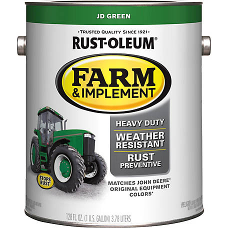 Rust-Oleum Specialty Farm & Implement Gloss, John Deere Greene, 1 gal.