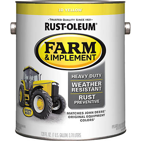 Rust-Oleum Specialty Farm & Implement Gloss, John Deere Yellow, 1 gal., 280175