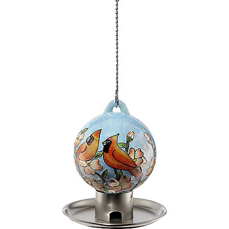 Royal Wing Ceramic Round Cardinal Feeder