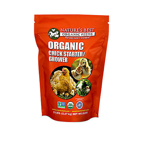 Nature's Best Organic Chick Starter/Grower, SP512C