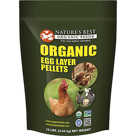 Nature's Best Organic Egg Layer Pellets