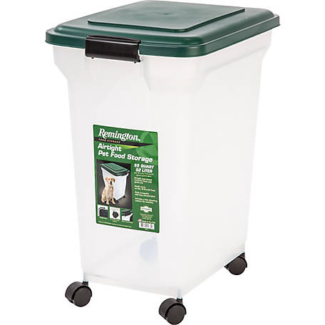 Remington 55 qt. Airtight Container, Green
