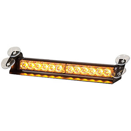 Century Spring Amber Dashboard Light Bar with 12 LED