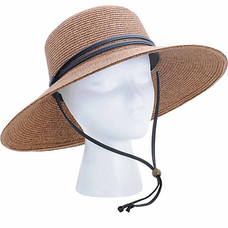 Sloggers Women s UPF 50+ Braided Sun Hat with Wind Lanyard - 1085510 ... 5b3b3eb6c72