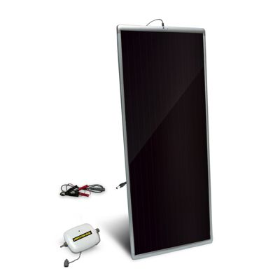 Buy Competition Solar 20W Amorphous Solar Panel with 8 Amp Charge Controller for 12V Battery Charging Online