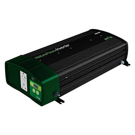 Nature Power 2,000W Pure Sine Wave Inverter with 55W Charger, 38326