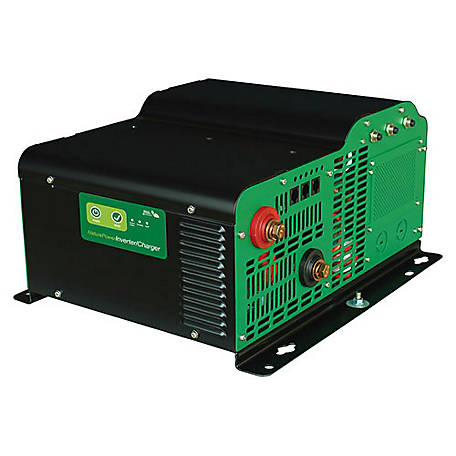 Nature Power 3,000W Pure Sine Wave Inverter with 150 Amp Charger, 38330