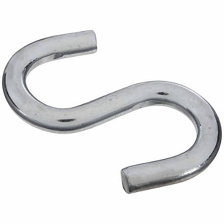 National Hardware N347-849 2076 Open S-Hook, Zinc Plated