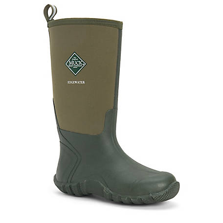 Muck Boot Company Unisex Edgewater Tall Neoprene & Rubber Boot