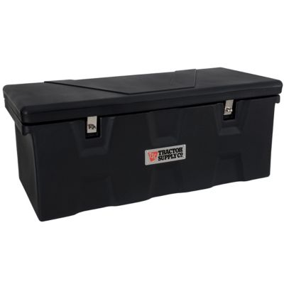 Tractor Supply Co Heavy Duty Poly, Extra Long Plastic Storage Boxes