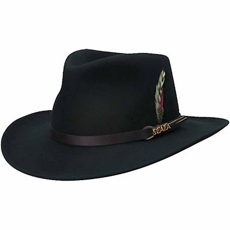 Scala Classico Men's Outback Hat