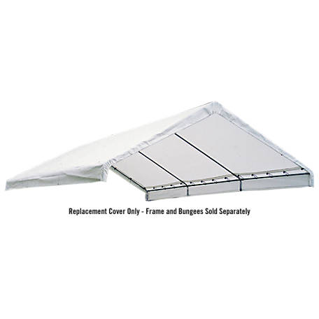 ShelterLogic 18 ft. x 30 ft. Canopy Replacement Cover, FR Rated