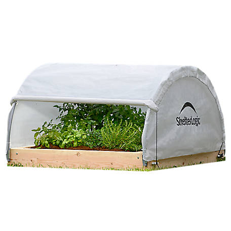 ShelterLogic GrowIt Heavy Duty Walk-Thru Greenhouse, Round-Style, 12 ft. x 20 ft. x 8 ft.