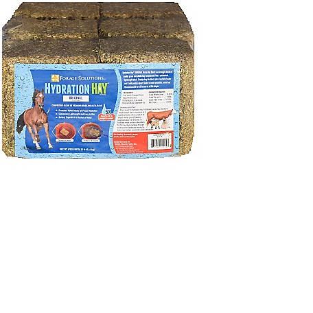 Purina Hydration Hay Horse Hay Block, Pack of 6, 12 lb.