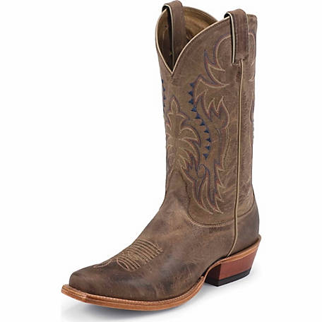 Nocona Men's Brisby Tan 12 in. Tall Western Boot