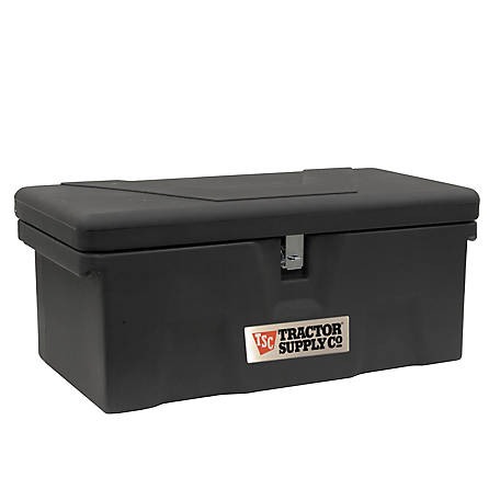 Tractor Supply Co. Heavy-Duty Poly Utility Storage Box, 32 in.