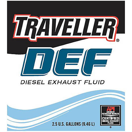 Traveller Diesel Exhaust Fluid, 2-1/2 gal  at Tractor Supply Co