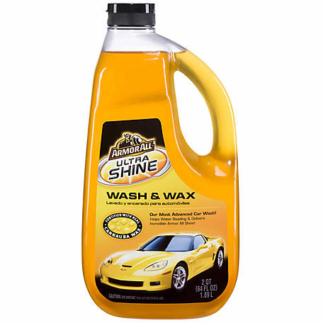 Armor All Ultra Shine Wash & Wax, 64 fl. oz.