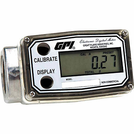 GPI 1 in. Digital Fuel Meter, 03A31GM