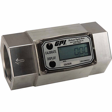 GPI 2 in. Digital Fuel Meter, 03A32GM