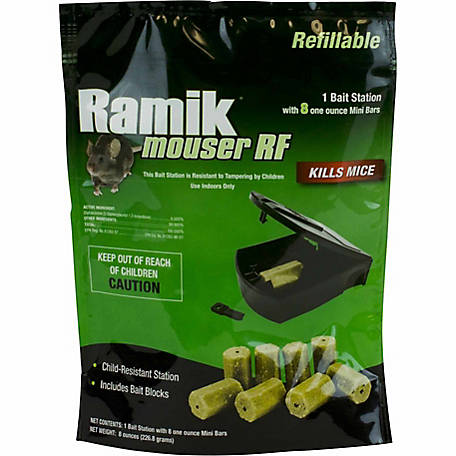 Ramik Mouser Refillable Bait Station, 800
