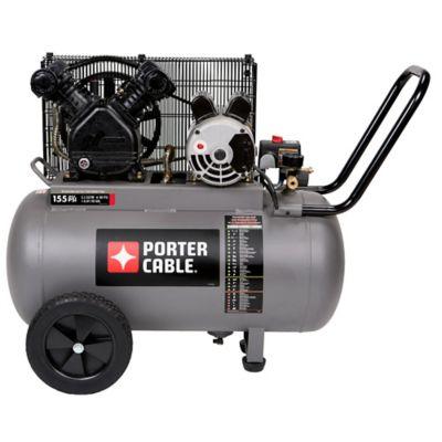 porter cable 20 gallon portable belt drive air compressor at tractor