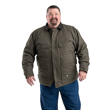 11cf7618d Berne Men's Duck Quilt-Lined Insulated Chore Coat at Tractor Supply Co.