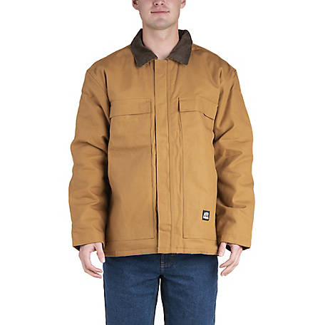 Berne Men's Duck Quilt-Lined Insulated Chore Coat