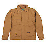 Berne Men's Flame Resistant Duck Quilt-Lined Bomber Jacket