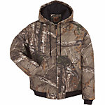Berne Men's Realtree Xtra Camouflage Quilt-Lined Insulated Hooded Jacket