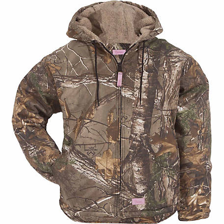 73d6c26e7 Berne Ladies  Realtree Xtra Camouflage Sherpa-Lined Insulated ...