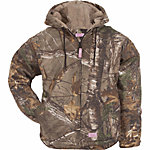Berne Ladies' Realtree Xtra Camouflage Sherpa-Lined Insulated Hooded Coat