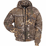Berne Men's Realtree Xtra Camouflage Thermal-Lined Zip-Front Hooded Sweatshirt