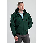 Berne Men's Duck Quilt-Lined Insulated Hooded Jacket