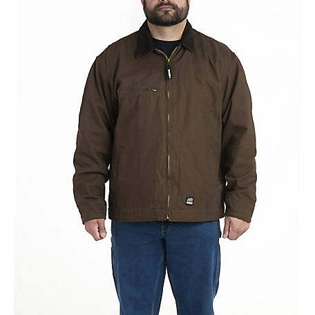 a4082e7c6 Berne Men's Sanded/Washed Duck Fleece-Lined Gasoline Jacket at Tractor  Supply Co.
