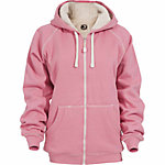 Berne Ladies' Sherpa-Lined Zip-Front Hooded Sweatshirt
