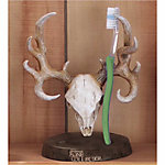 Bone Collector Toothbrush Holder, Brown.