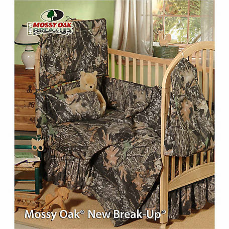 Mossy Oak New Break Up Crib Bed Skirt