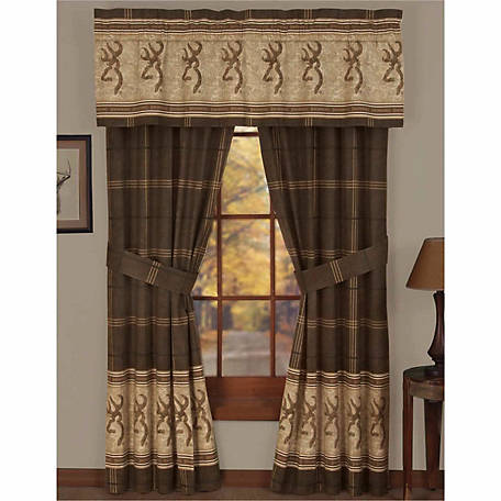 Browning Buckmark Valances, 63 in. x 18 in.
