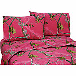 Realtree AP Fuchsia Twin Sheet Set
