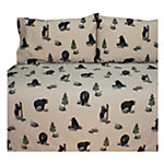Blue Ridge Trading The Bears Twin Sheet Set